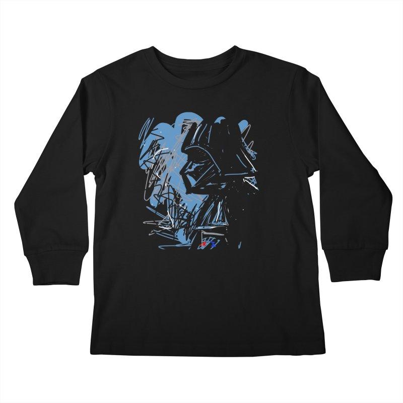 Darth Kids Longsleeve T-Shirt by rimadi's Artist Shop