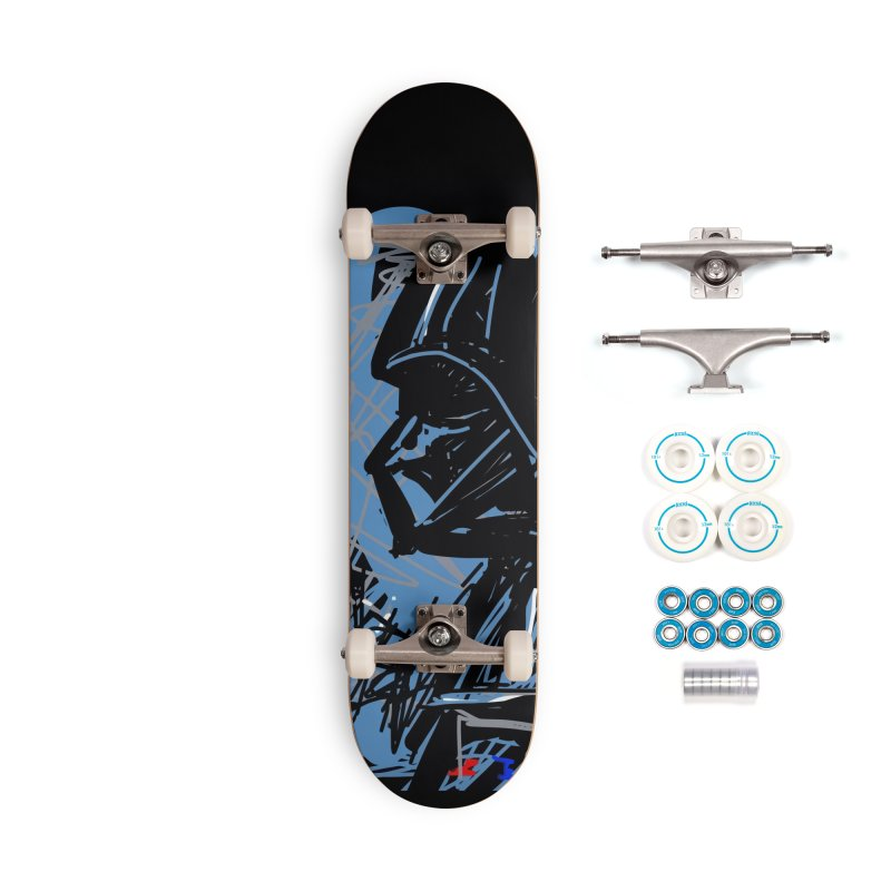 Darth Accessories Complete - Basic Skateboard by rimadi's Artist Shop
