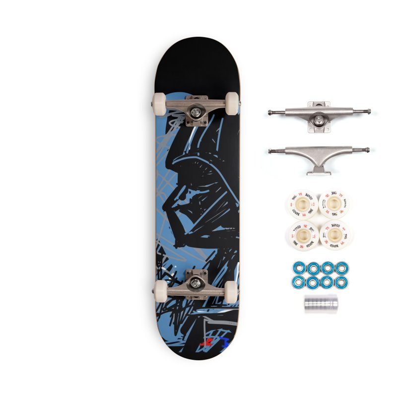 Darth Accessories Complete - Premium Skateboard by rimadi's Artist Shop