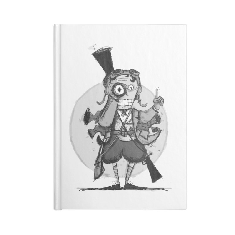 Steampunk Explorer Accessories Lined Journal Notebook by rimadi's Artist Shop