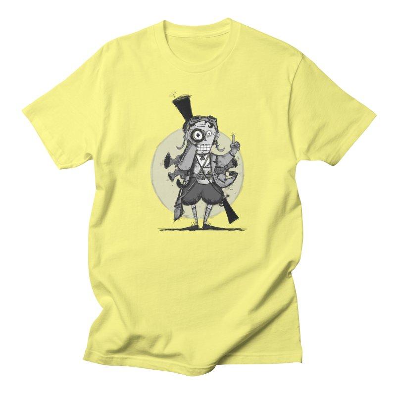Steampunk Explorer Men's T-Shirt by rimadi Shop