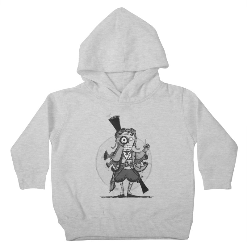Steampunk Explorer Kids Toddler Pullover Hoody by rimadi's Artist Shop
