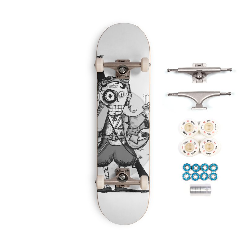 Steampunk Explorer Accessories Complete - Premium Skateboard by rimadi's Artist Shop