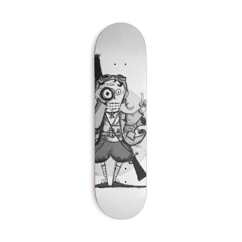 Steampunk Explorer Accessories Deck Only Skateboard by rimadi's Artist Shop