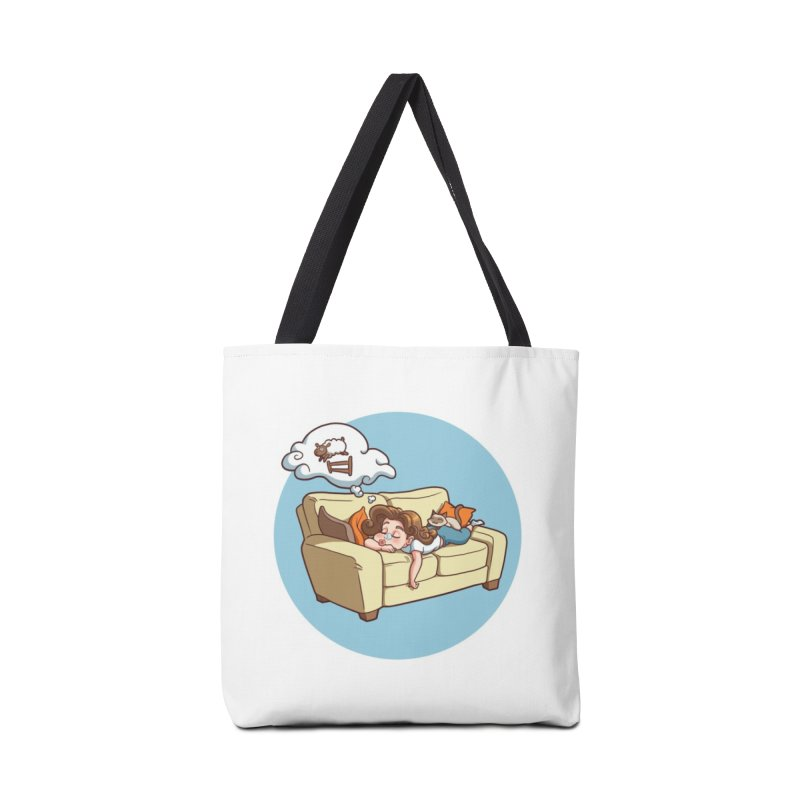 Sunday...Sunoozeday Accessories Tote Bag Bag by Rina Rozsas's Artist Shop