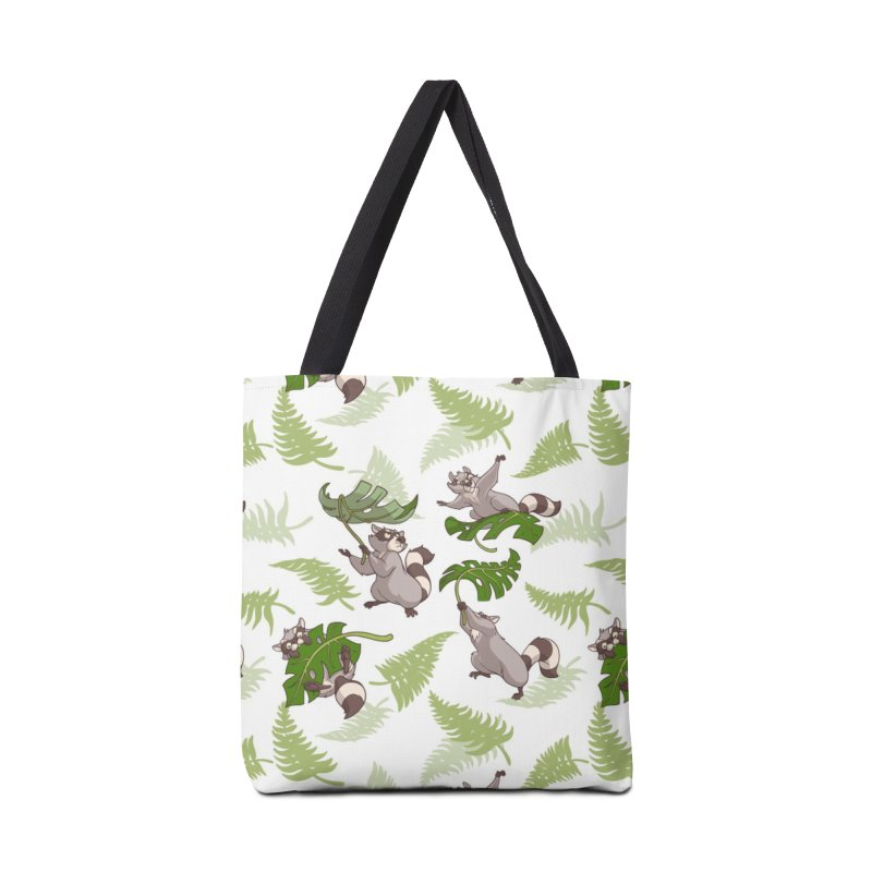 Leave It To Raccoons Accessories Tote Bag Bag by Rina Rozsas's Artist Shop