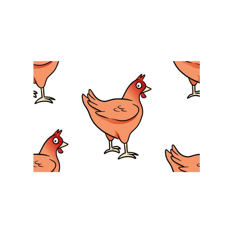 Chicken Is Worried by Rina Rozsas's Artist Shop