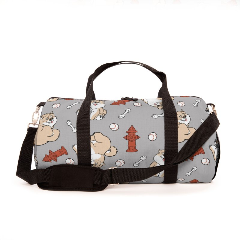 Gordon the Chow Chow Accessories Bag by Rina Rozsas's Artist Shop