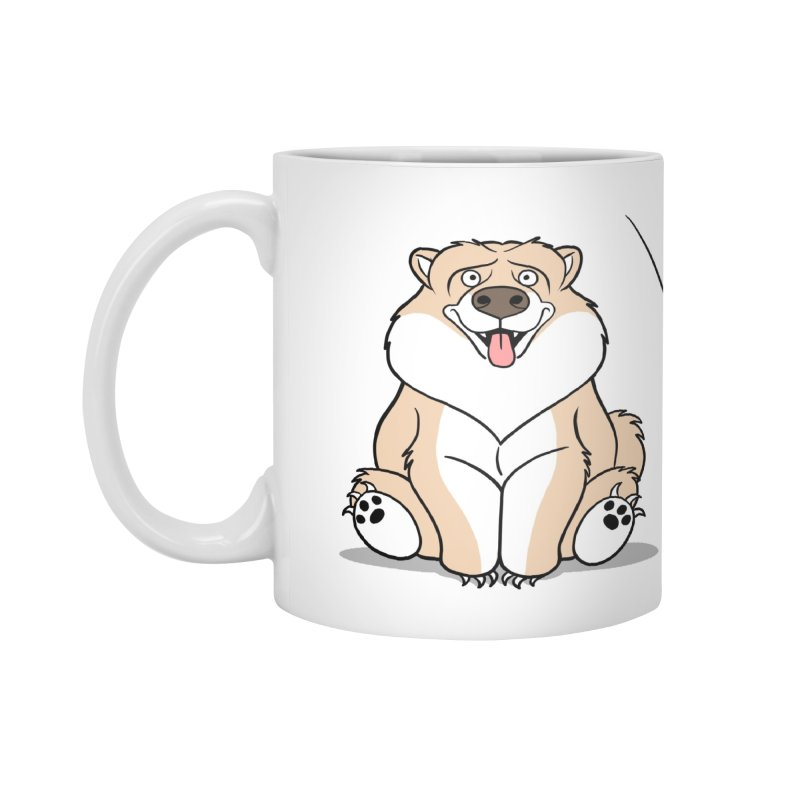 Gordon the Chow Chow Accessories Standard Mug by Rina Rozsas's Artist Shop