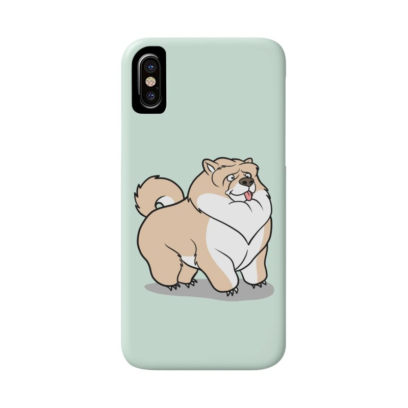 Gordon the Chow Chow Accessories Phone Case by Rina Rozsas's Artist Shop