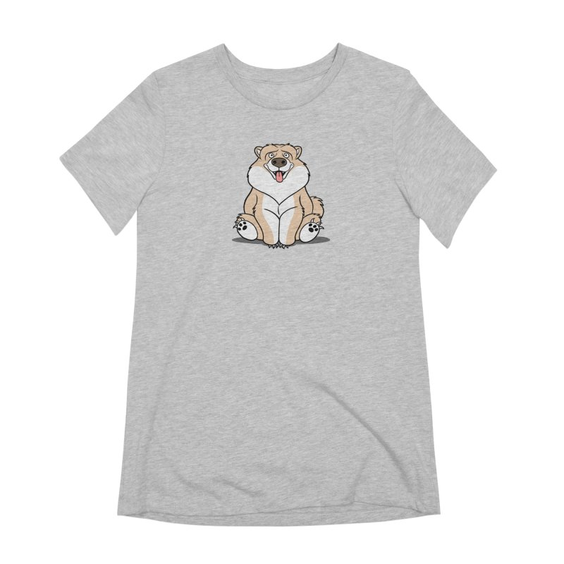 Gordon the Chow Chow Women's Extra Soft T-Shirt by Rina Rozsas's Artist Shop