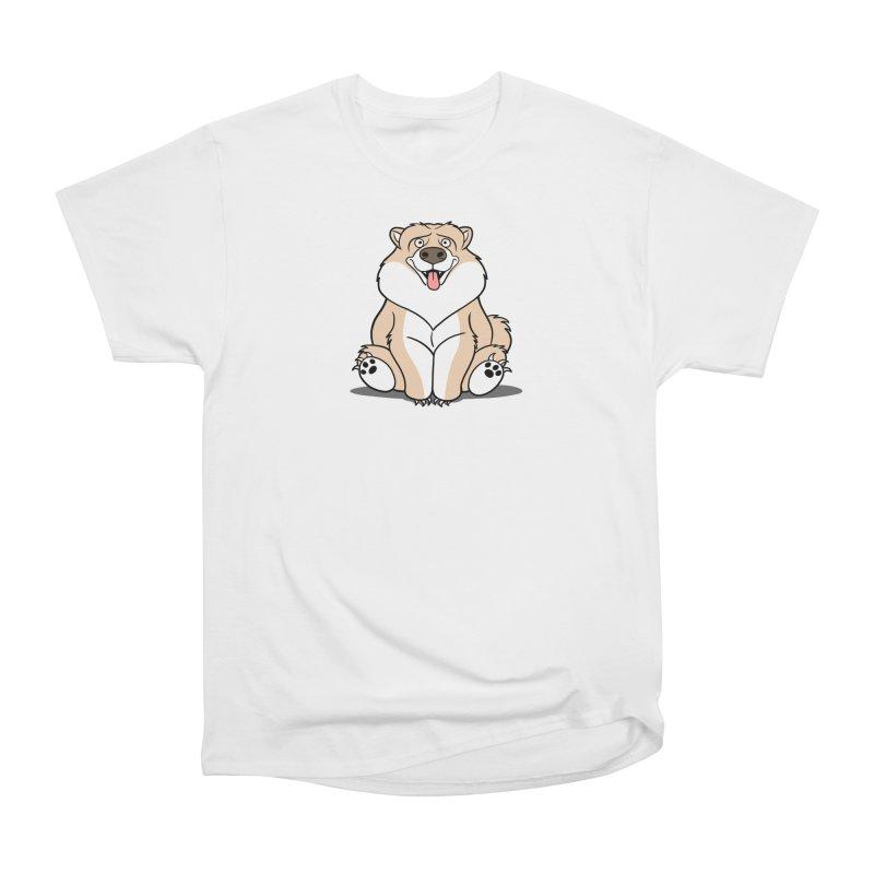 Gordon the Chow Chow Women's Heavyweight Unisex T-Shirt by Rina Rozsas's Artist Shop