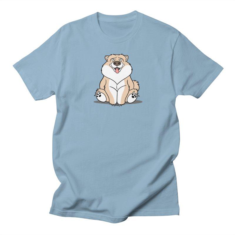 Gordon the Chow Chow Women's Regular Unisex T-Shirt by Rina Rozsas's Artist Shop