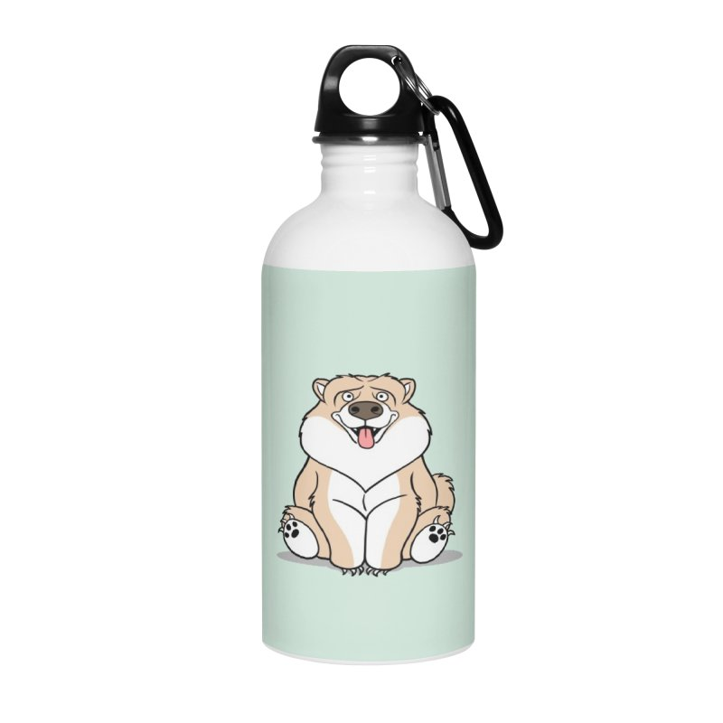 Gordon the Chow Chow Accessories Water Bottle by Rina Rozsas's Artist Shop