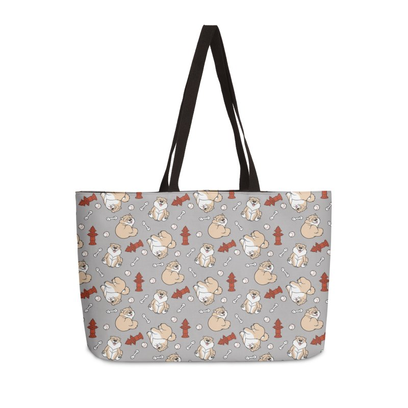 Gordon the Chow Chow Accessories Weekender Bag Bag by Rina Rozsas's Artist Shop