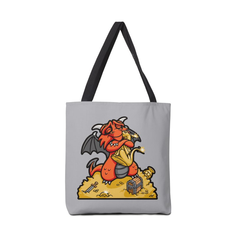 Dmitri the Dragon Loves Accessories Bag by Rina Rozsas's Artist Shop