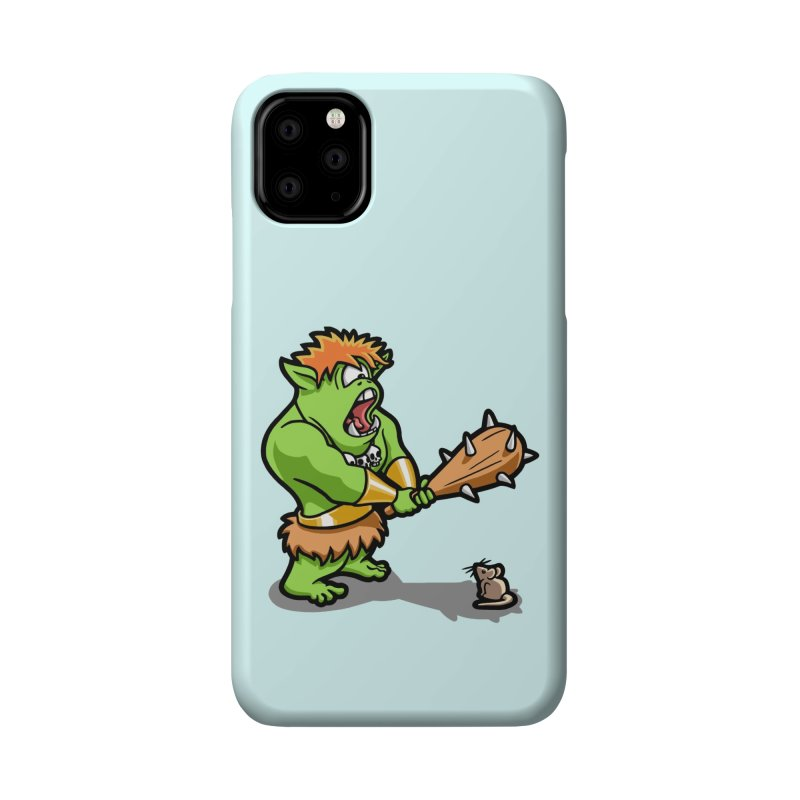 Ollie the Cyclops Finds His Nemesis Accessories Phone Case by Rina Rozsas's Artist Shop