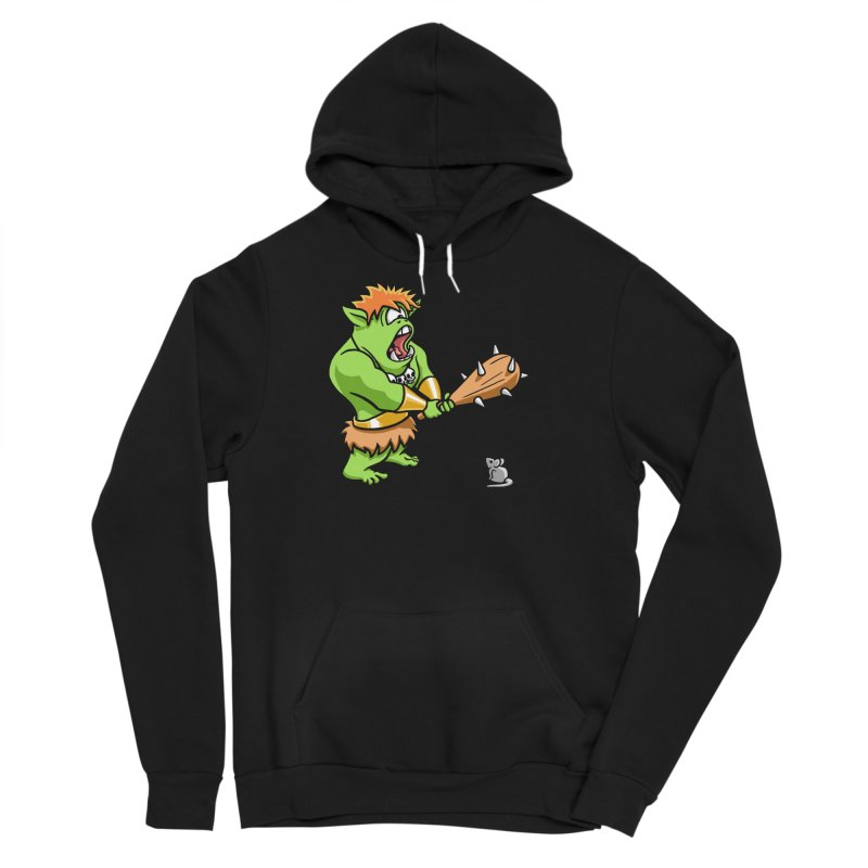 Ollie the Cyclops Finds His Nemesis Men's Sponge Fleece Pullover Hoody by Rina Rozsas's Artist Shop