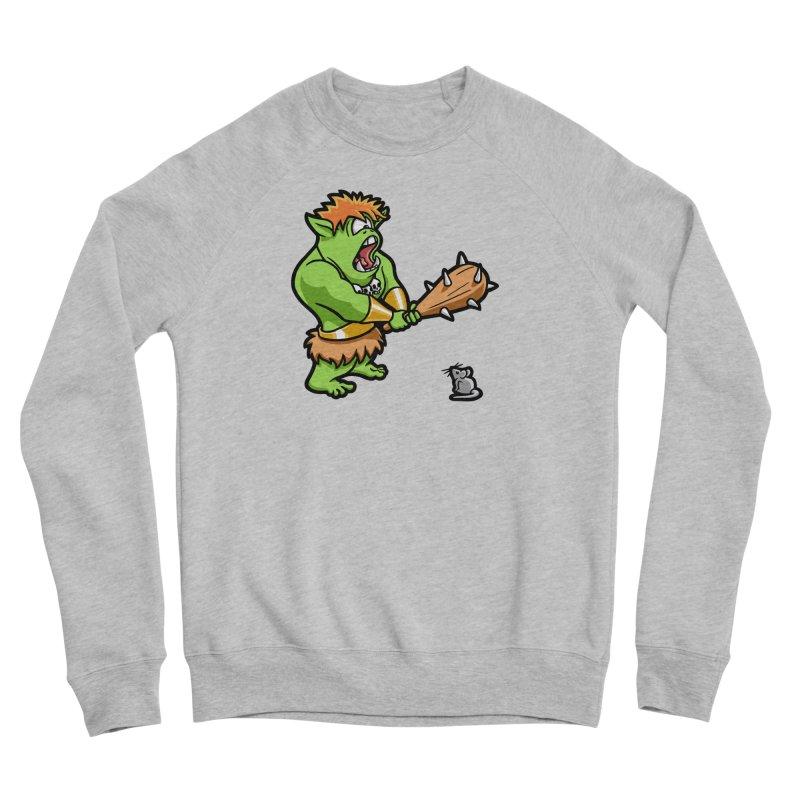 Ollie the Cyclops Finds His Nemesis Men's Sponge Fleece Sweatshirt by Rina Rozsas's Artist Shop