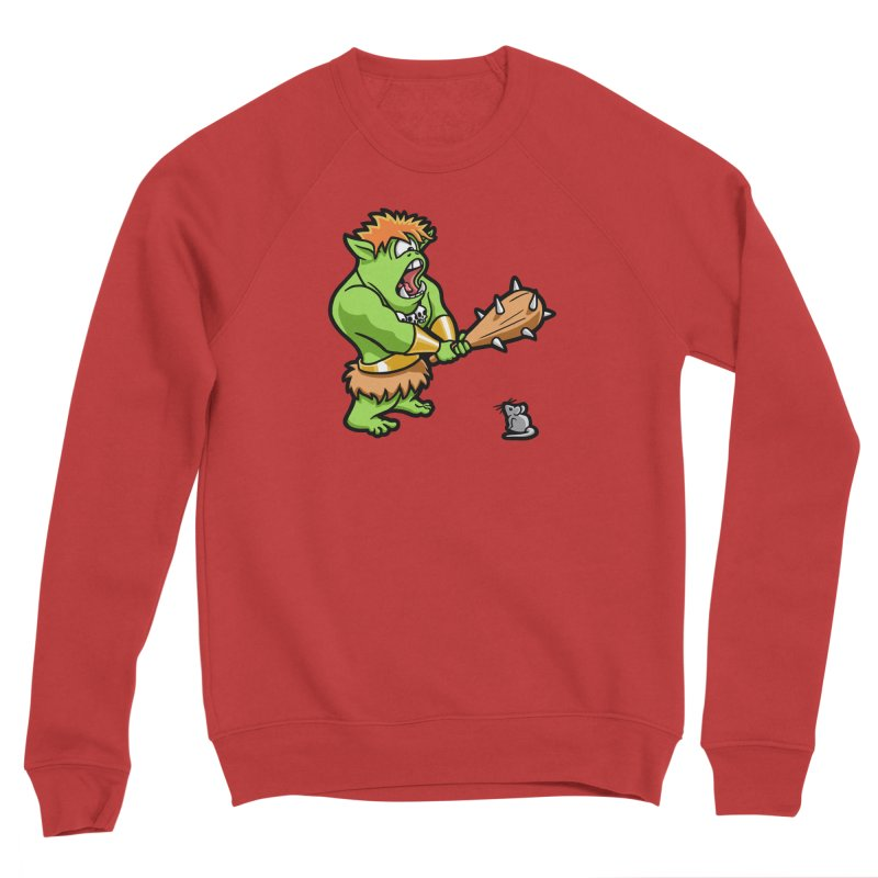 Ollie the Cyclops Finds His Nemesis Women's Sponge Fleece Sweatshirt by Rina Rozsas's Artist Shop