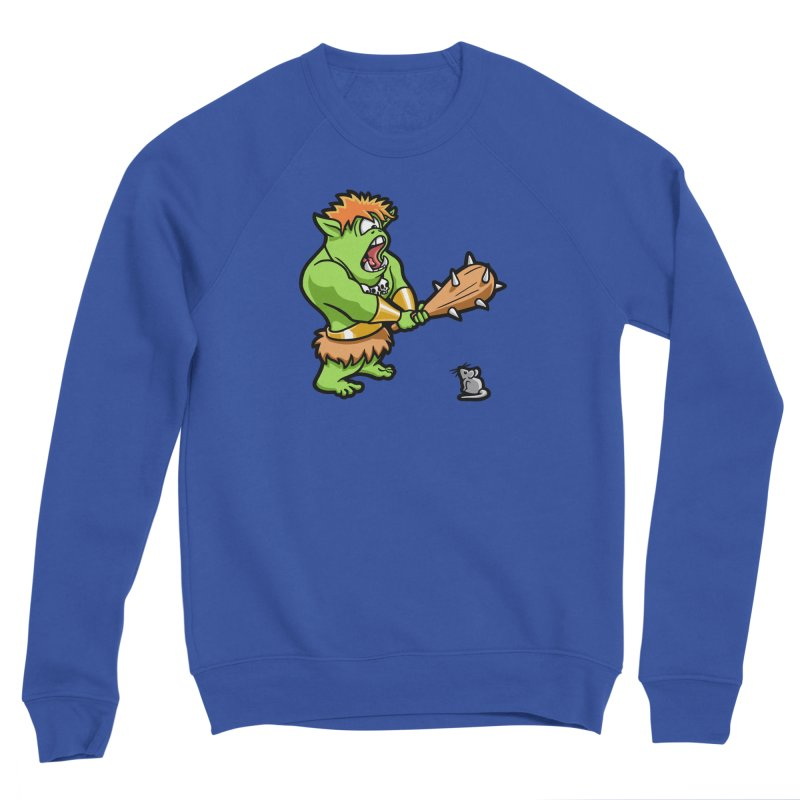 Ollie the Cyclops Finds His Nemesis Men's Sponge Fleece Sweatshirt by Rina Rozsas's Artist Shop