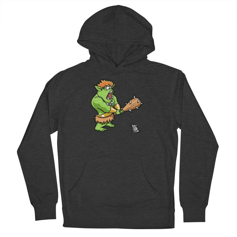Ollie the Cyclops Finds His Nemesis Women's French Terry Pullover Hoody by Rina Rozsas's Artist Shop