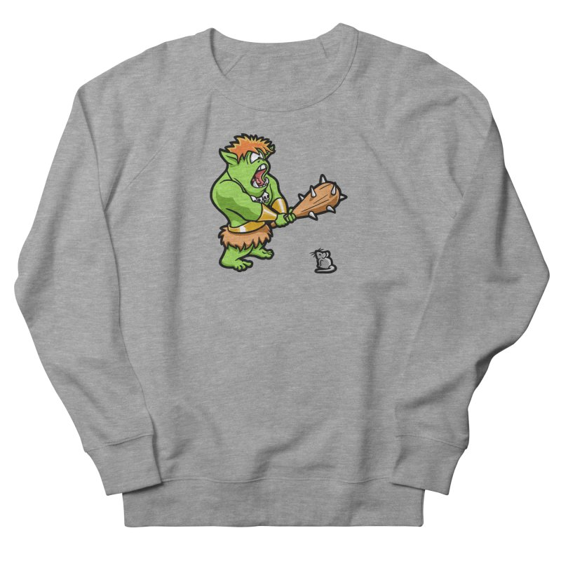 Ollie the Cyclops Finds His Nemesis Men's French Terry Sweatshirt by Rina Rozsas's Artist Shop