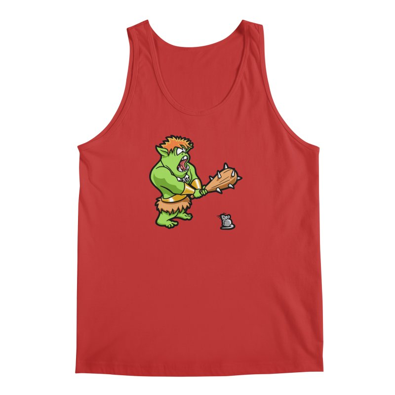 Ollie the Cyclops Finds His Nemesis Men's Regular Tank by Rina Rozsas's Artist Shop