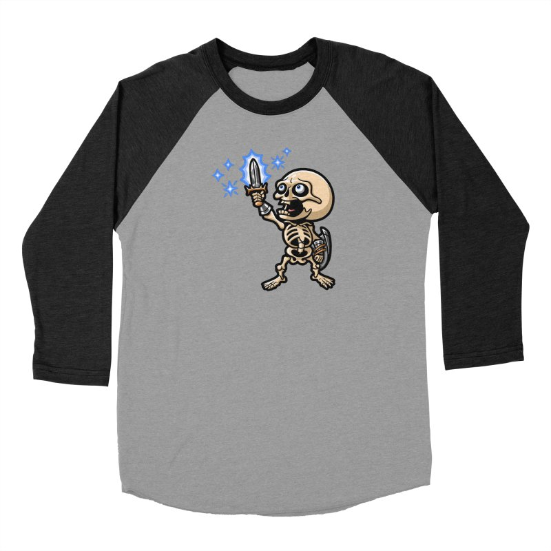 I Have the Power! Men's Baseball Triblend Longsleeve T-Shirt by Rina Rozsas's Artist Shop