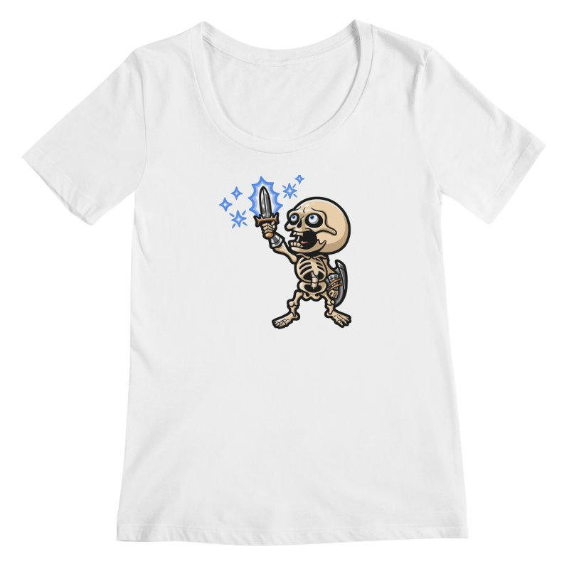 I Have the Power! Women's Regular Scoop Neck by Rina Rozsas's Artist Shop