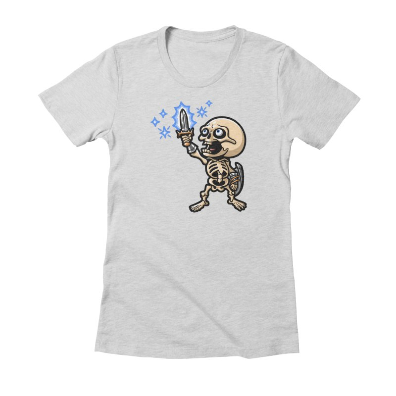 I Have the Power! Women's Fitted T-Shirt by Rina Rozsas's Artist Shop