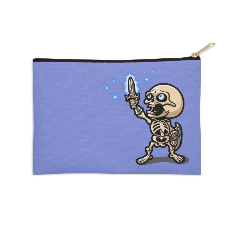 I Have the Power! Accessories Zip Pouch by Rina Rozsas's Artist Shop