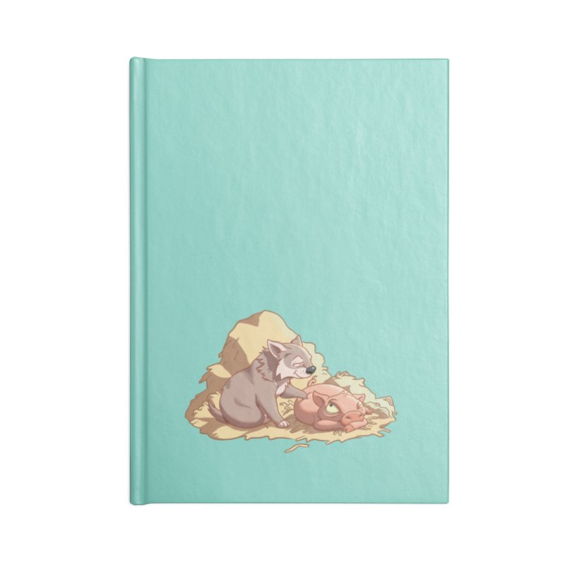 Tag, you're it! Accessories Lined Journal Notebook by Rina Rozsas's Artist Shop
