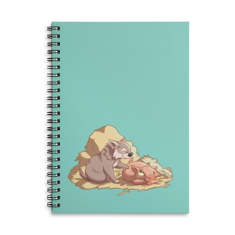 Tag, you're it! Accessories Lined Spiral Notebook by Rina Rozsas's Artist Shop