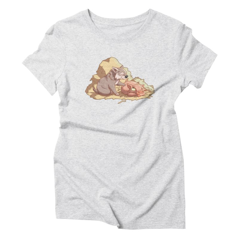 Tag, you're it! Women's Triblend T-Shirt by Rina Rozsas's Artist Shop