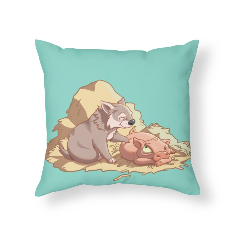 Tag, you're it! Home Throw Pillow by Rina Rozsas's Artist Shop