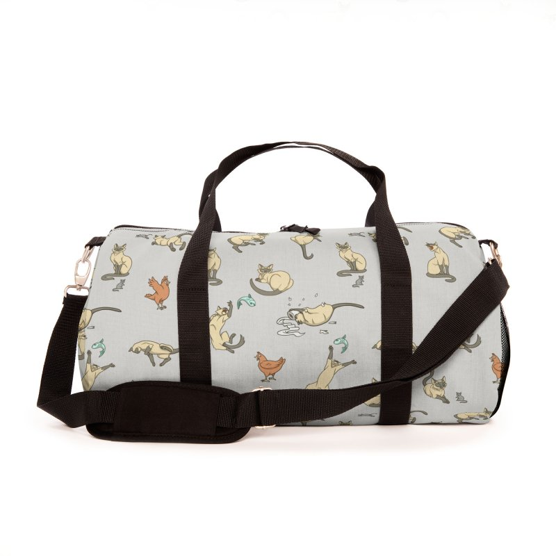 Cat Life Accessories Bag by Rina Rozsas's Artist Shop