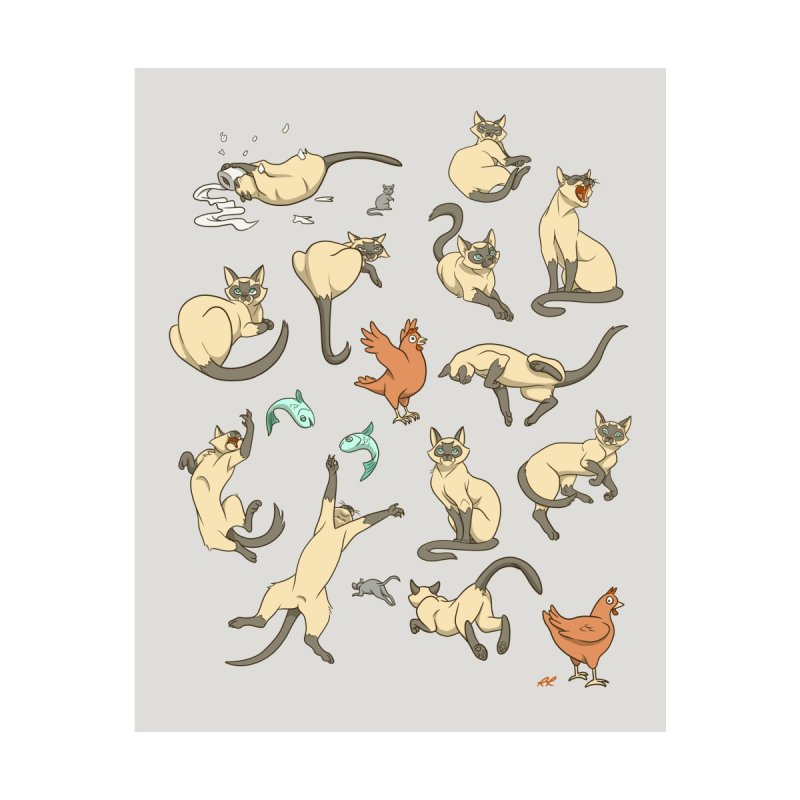 Cat Life by Rina Rozsas's Artist Shop