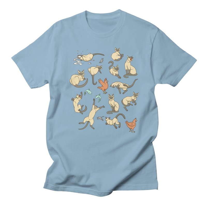 Cat Life Women's Regular Unisex T-Shirt by Rina Rozsas's Artist Shop