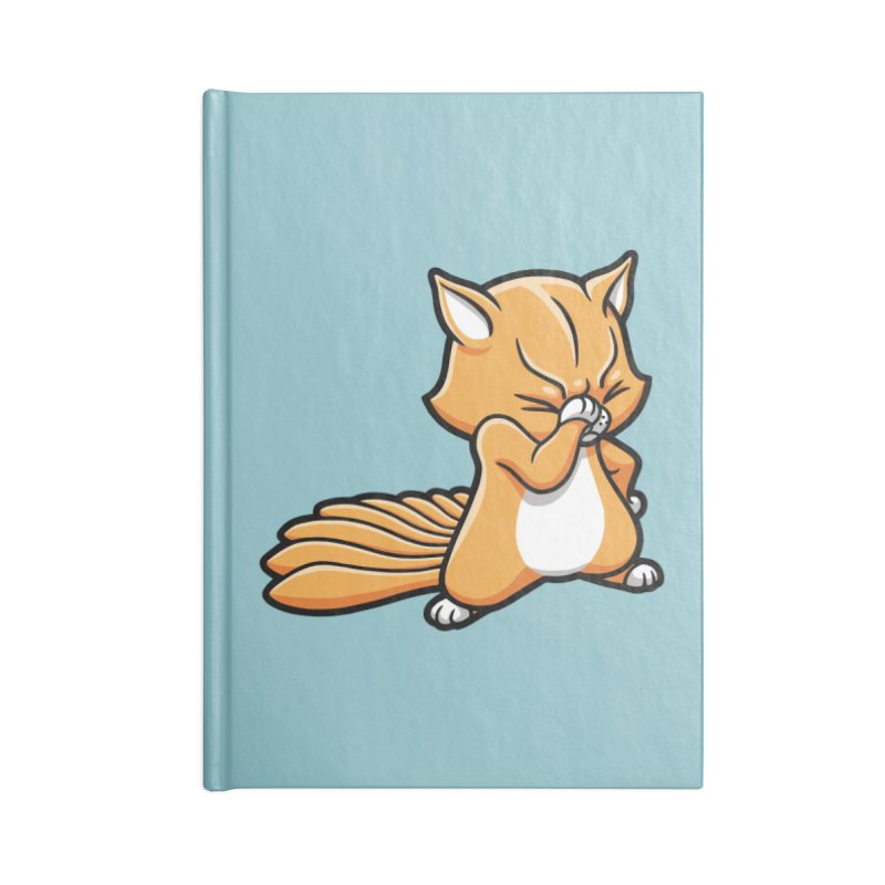 Face Palm Accessories Lined Journal Notebook by Rina Rozsas's Artist Shop
