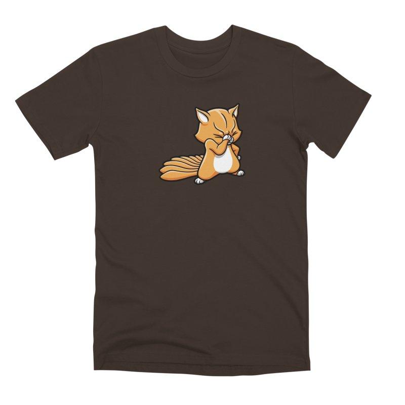 Face Palm Men's Premium T-Shirt by Rina Rozsas's Artist Shop