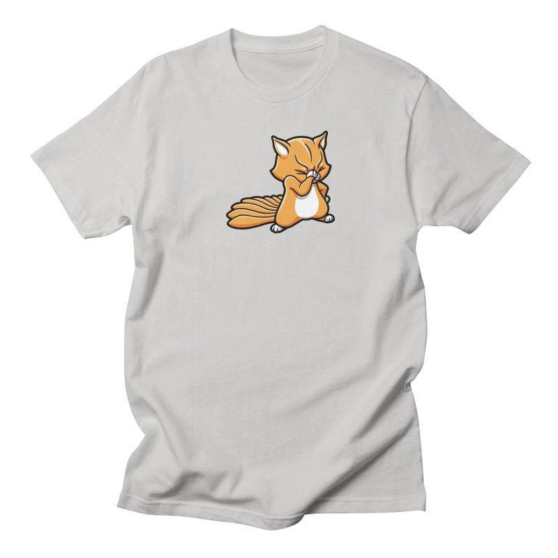 Face Palm Men's Regular T-Shirt by Rina Rozsas's Artist Shop