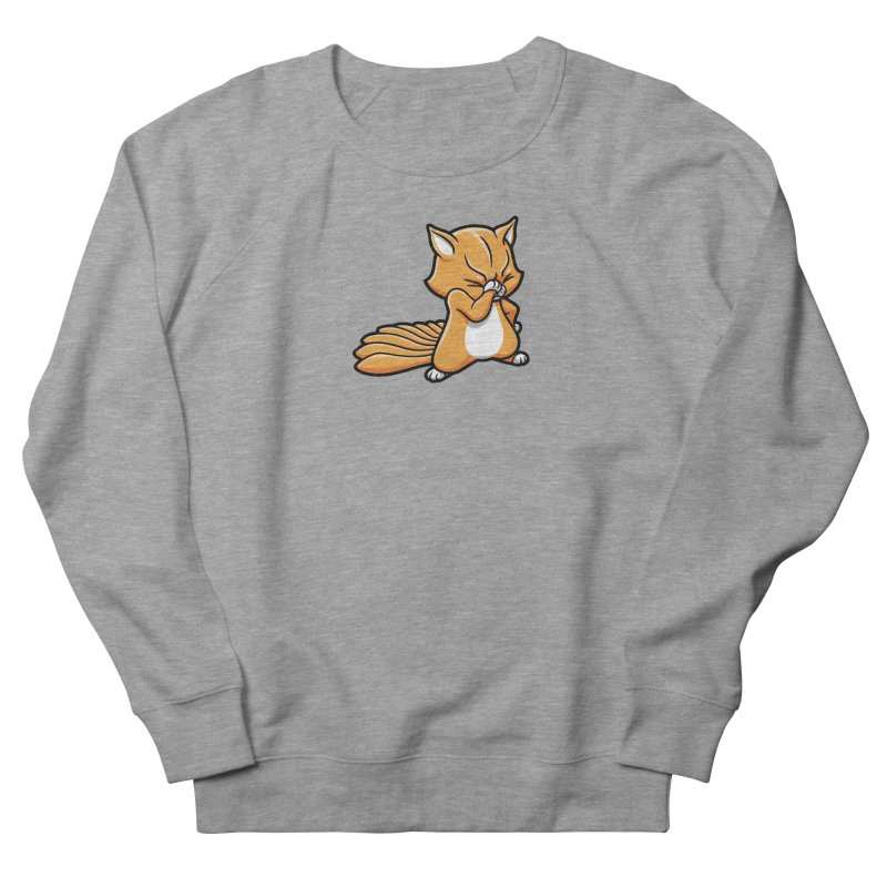 Face Palm Men's French Terry Sweatshirt by Rina Rozsas's Artist Shop