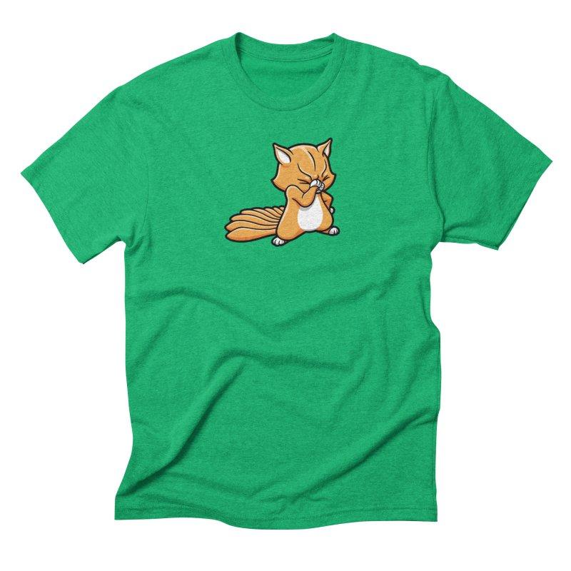 Face Palm Men's Triblend T-Shirt by Rina Rozsas's Artist Shop