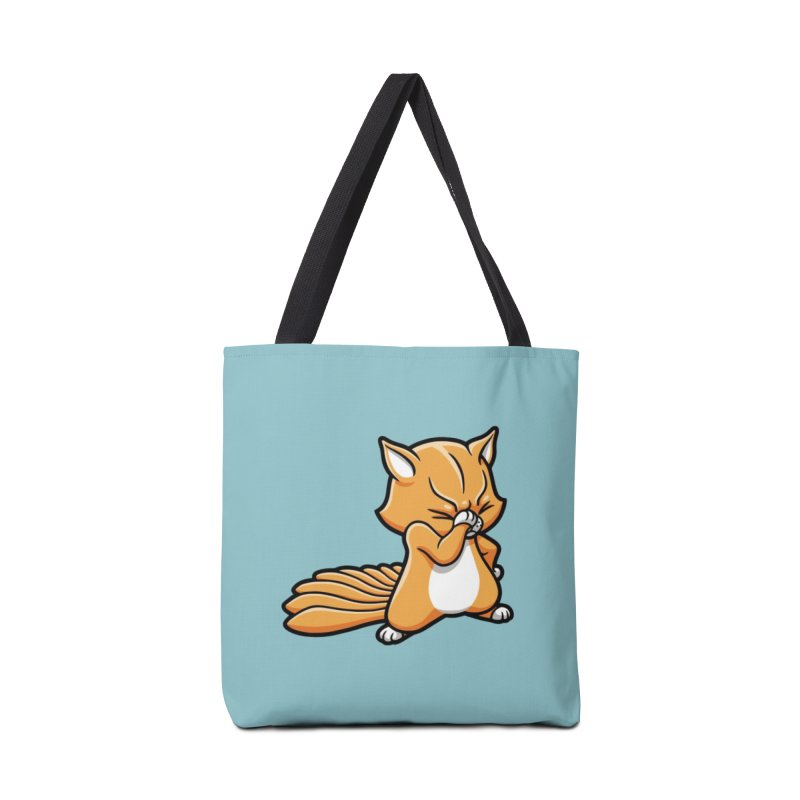 Face Palm Accessories Tote Bag Bag by Rina Rozsas's Artist Shop