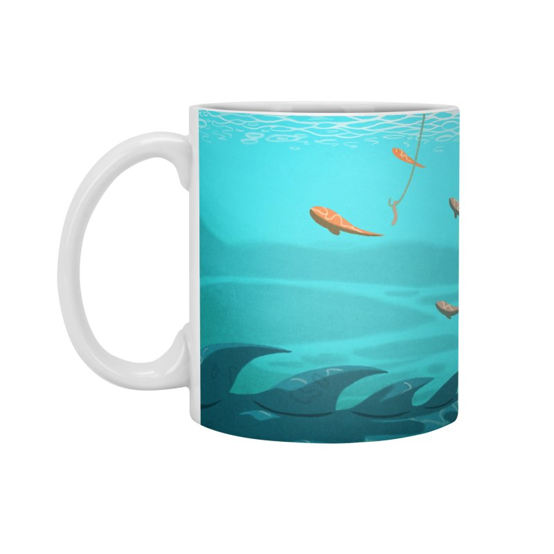 Overboard Accessories Standard Mug by Rina Rozsas's Artist Shop