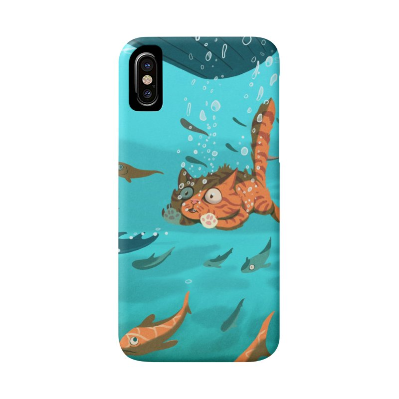 Overboard Accessories Phone Case by Rina Rozsas's Artist Shop