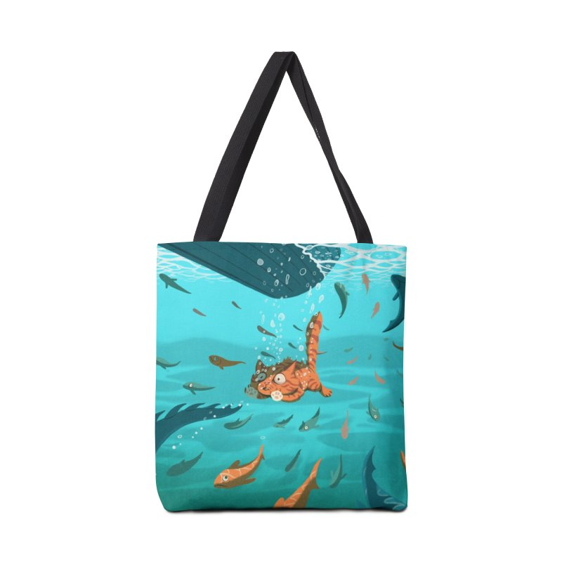 Overboard Accessories Tote Bag Bag by Rina Rozsas's Artist Shop