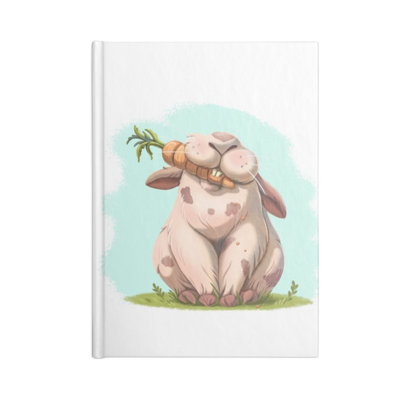 Floofy Accessories Blank Journal Notebook by Rina Rozsas's Artist Shop