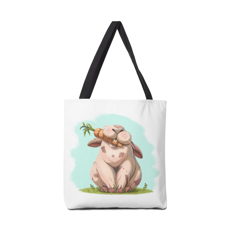 Floofy Accessories Tote Bag Bag by Rina Rozsas's Artist Shop